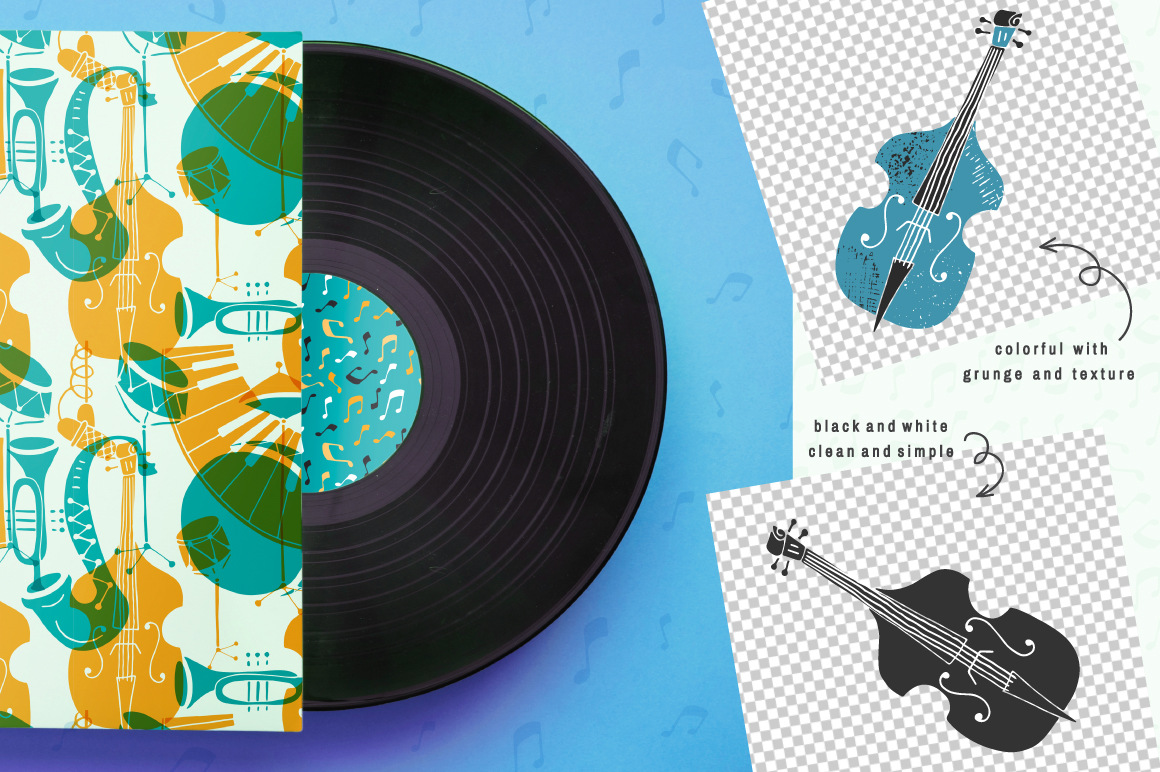 Jazz Music vector collection example image 3