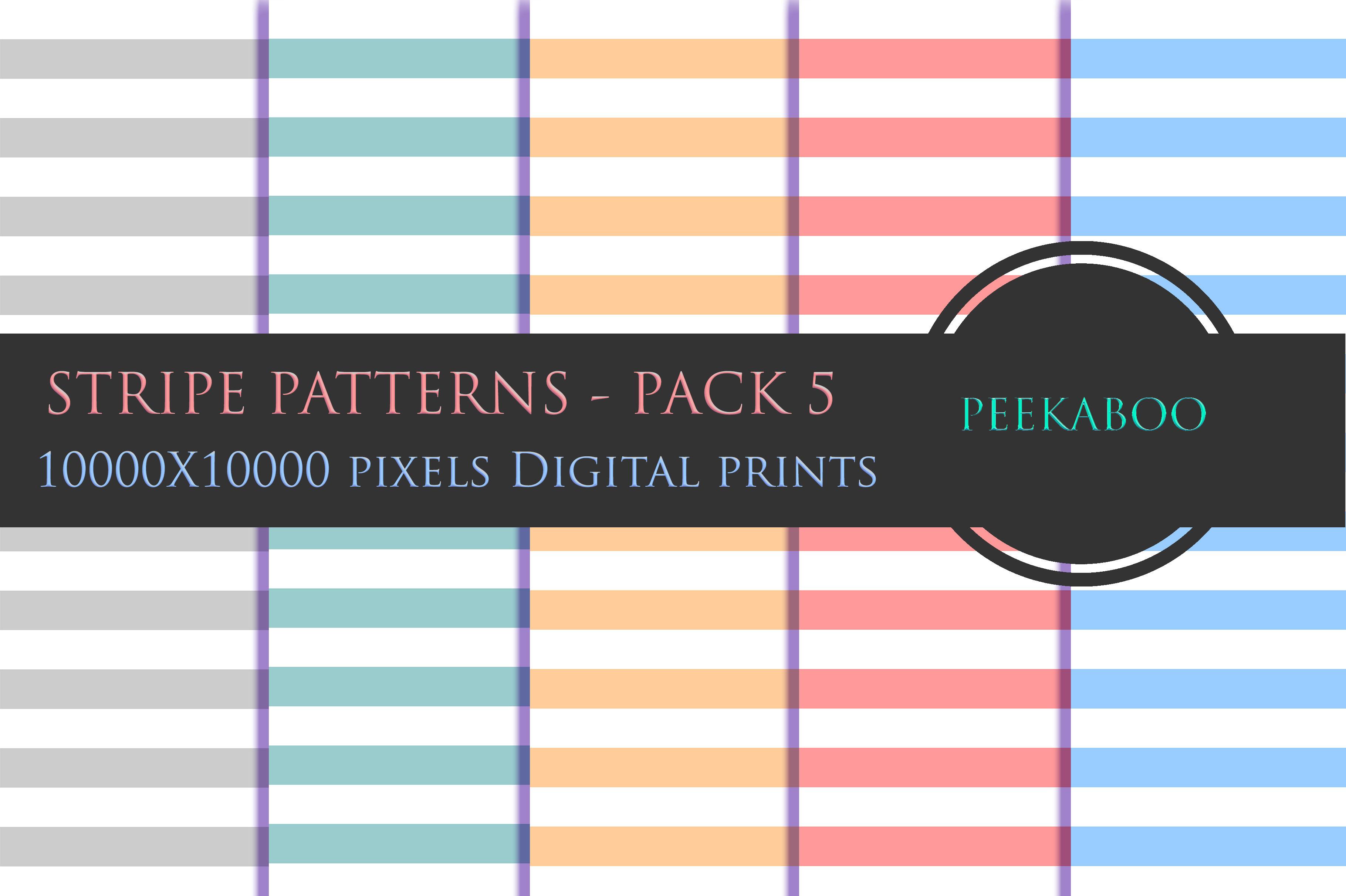 10k pixels Stripe Digital Papers - P5 example image 1