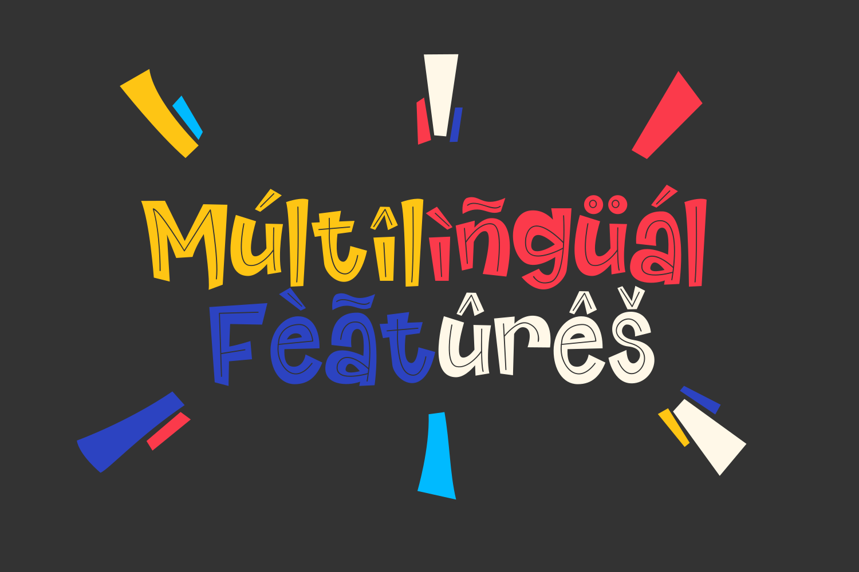 Riangriung - Fun Layered Font example image 5