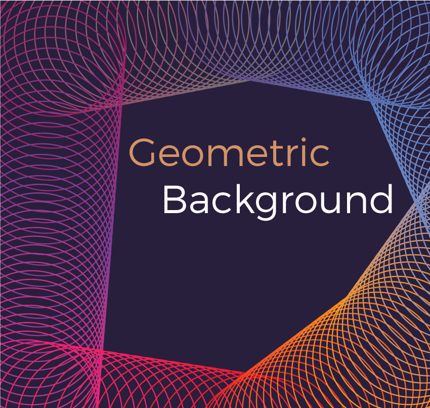 Geometric vector backgrounds example image 4