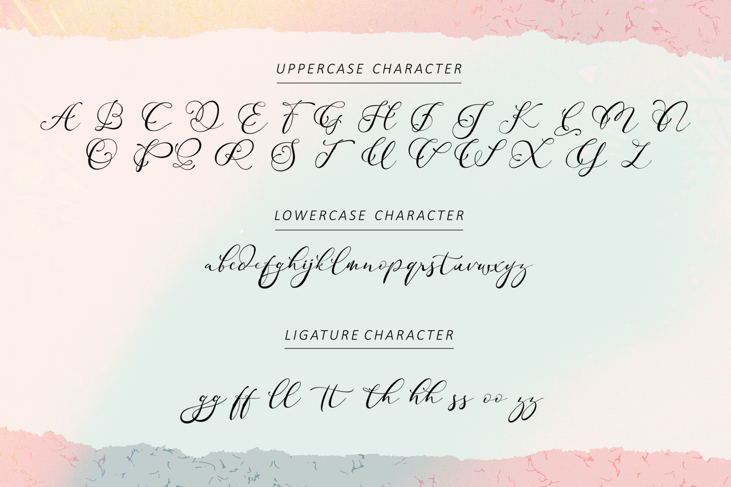 Adonessia Font example image 9