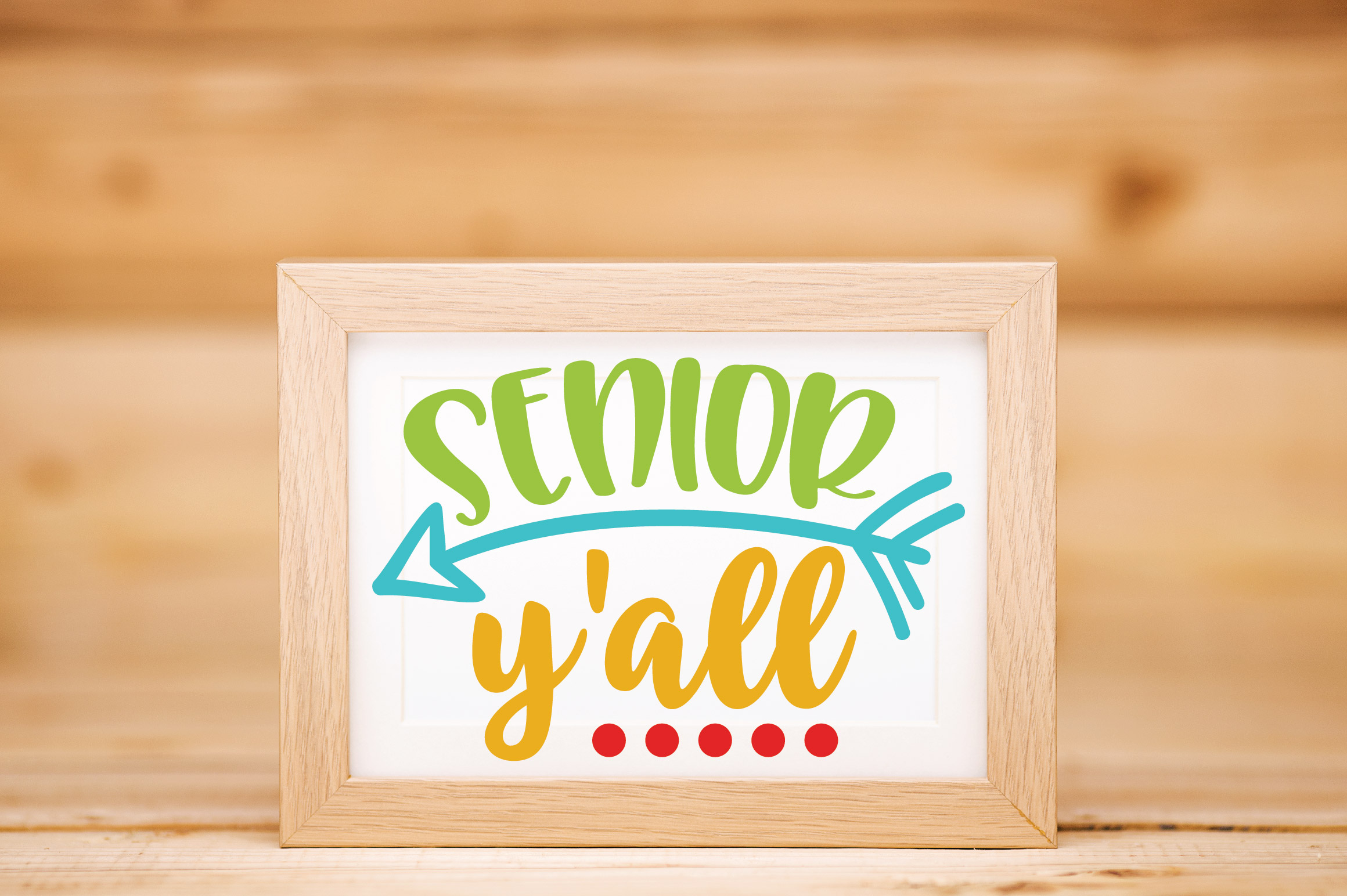 Senior Y'all SVG Cut File - Back to School SVG DXF EPS example image 3