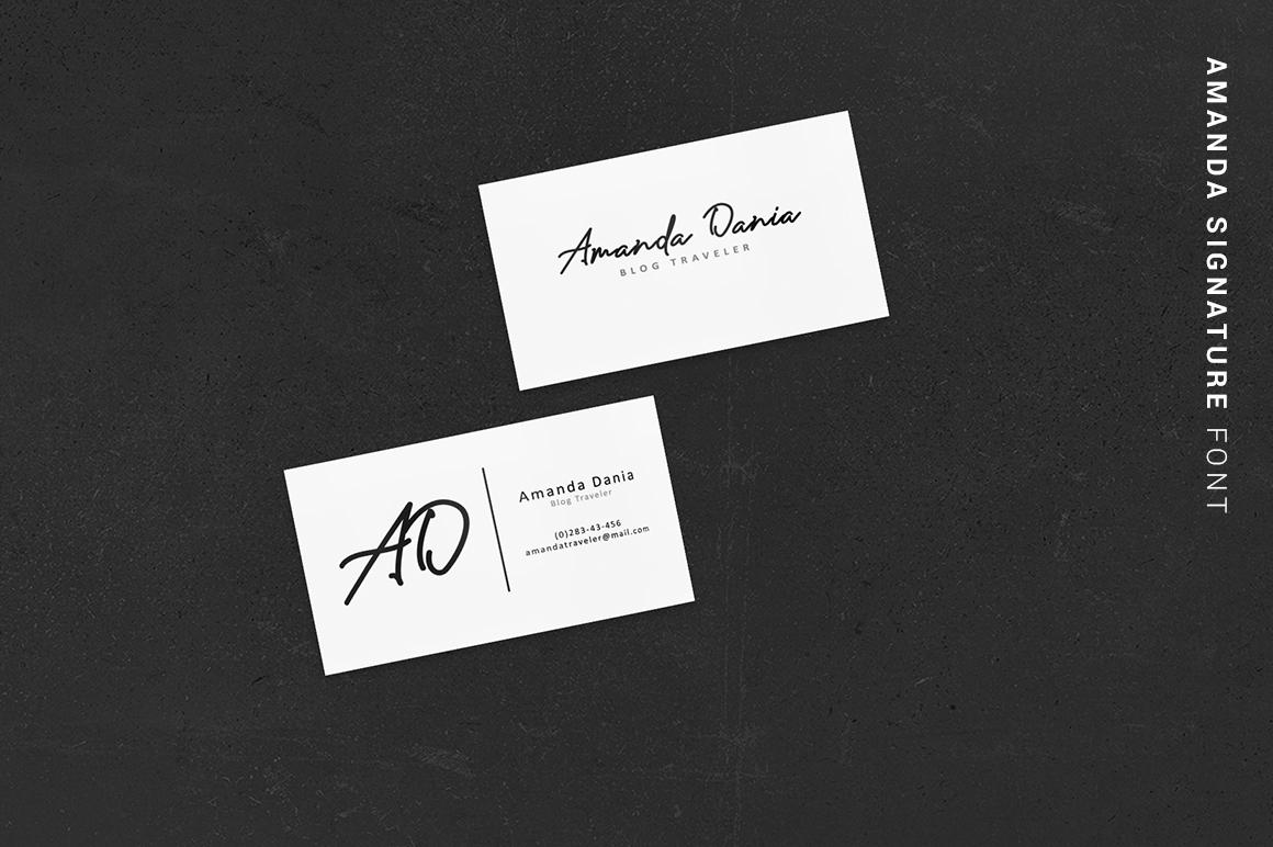 Amanda Signature example image 4