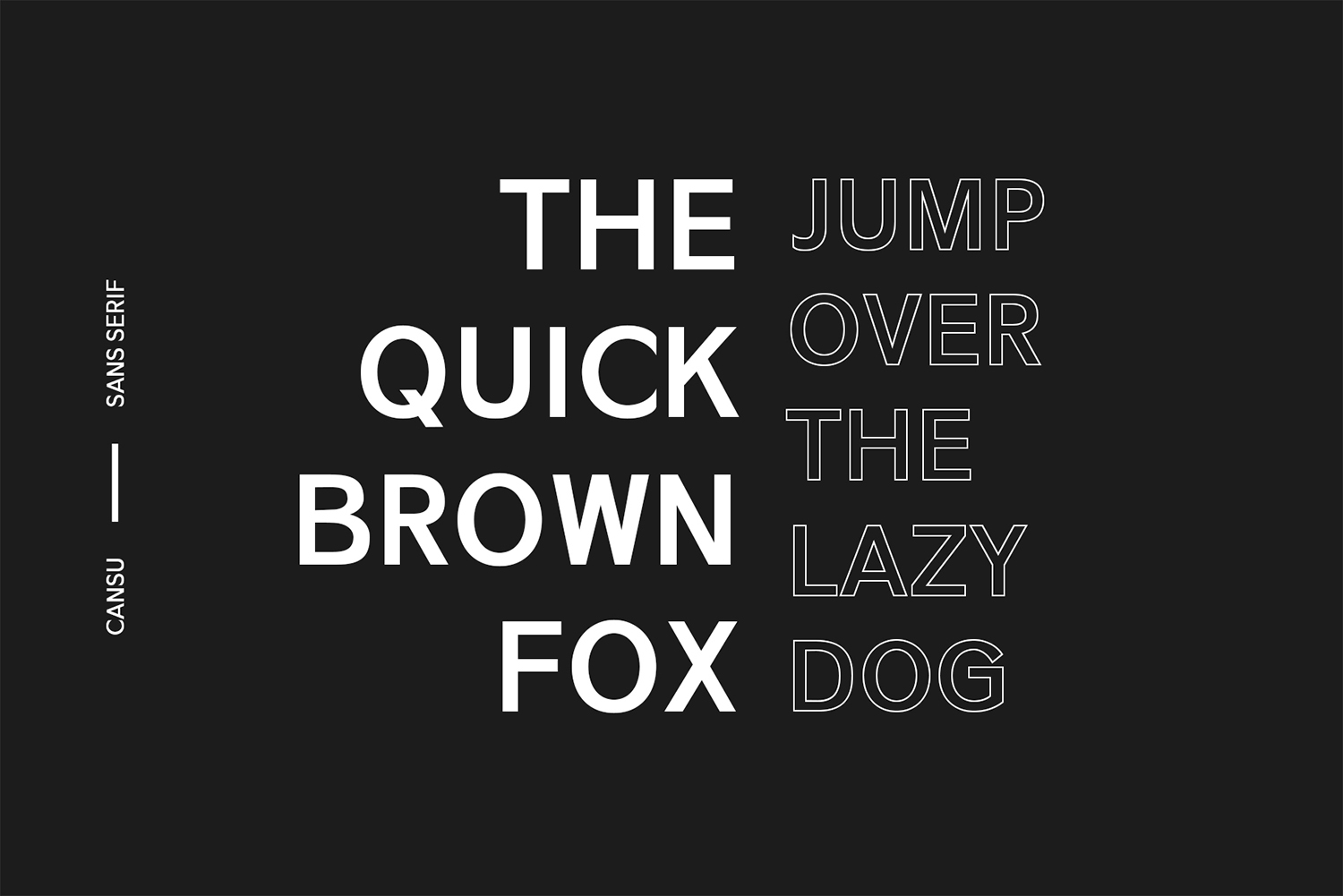 Cansu Sans Serif Font Family example image 3