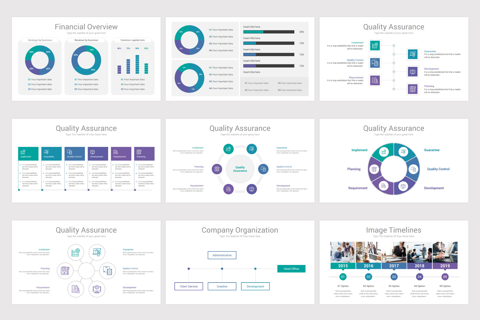 Annual Report Keynote Template example image 12