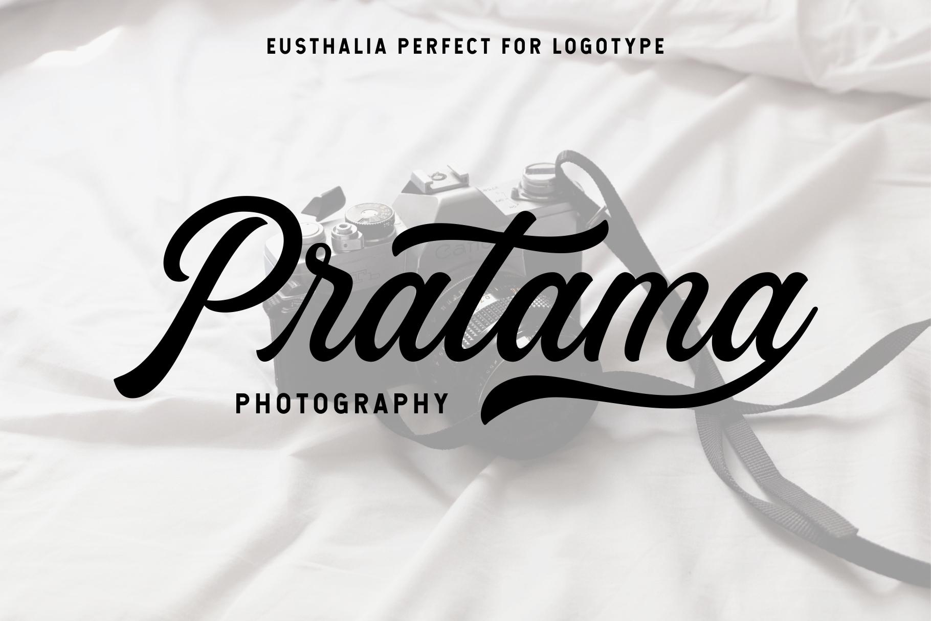 Eusthalia Typeface example image 7