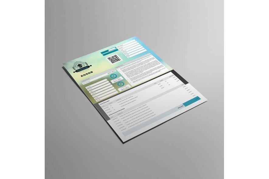 Business Invoice US Letter Template example image 5