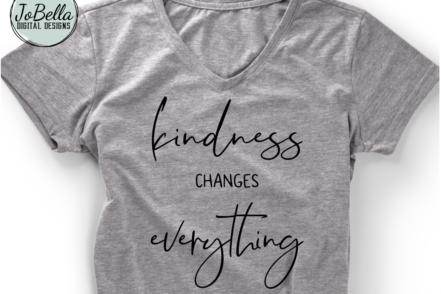 Kindness Changes Everything SVG, Sublimation PNG & Printable example image 2