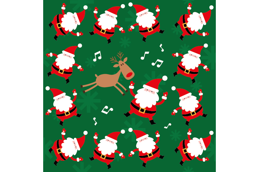Christmas Patterns Collection. 12 of the jpeg files in resolution 4167*4167 px and 12 files eps8. example image 6
