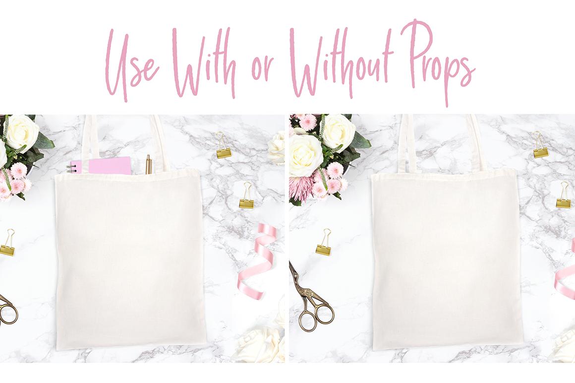 Canvas Tote Bag Mockup Photograph example image 3