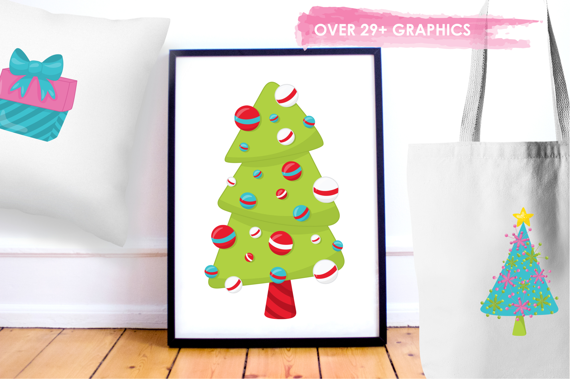 Christmas Décor graphics and illustrations example image 5