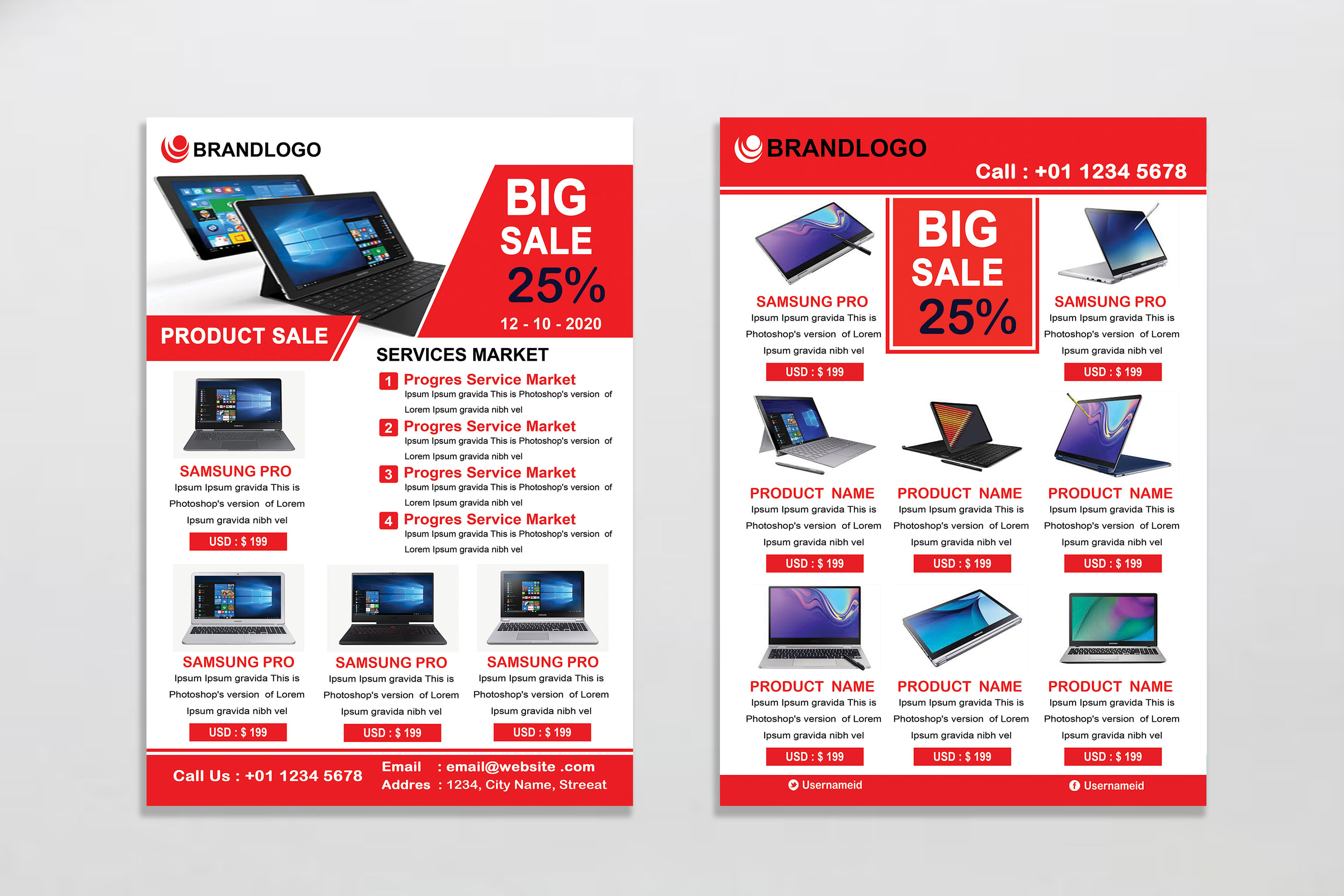 Product Promotion Flyer example image 8