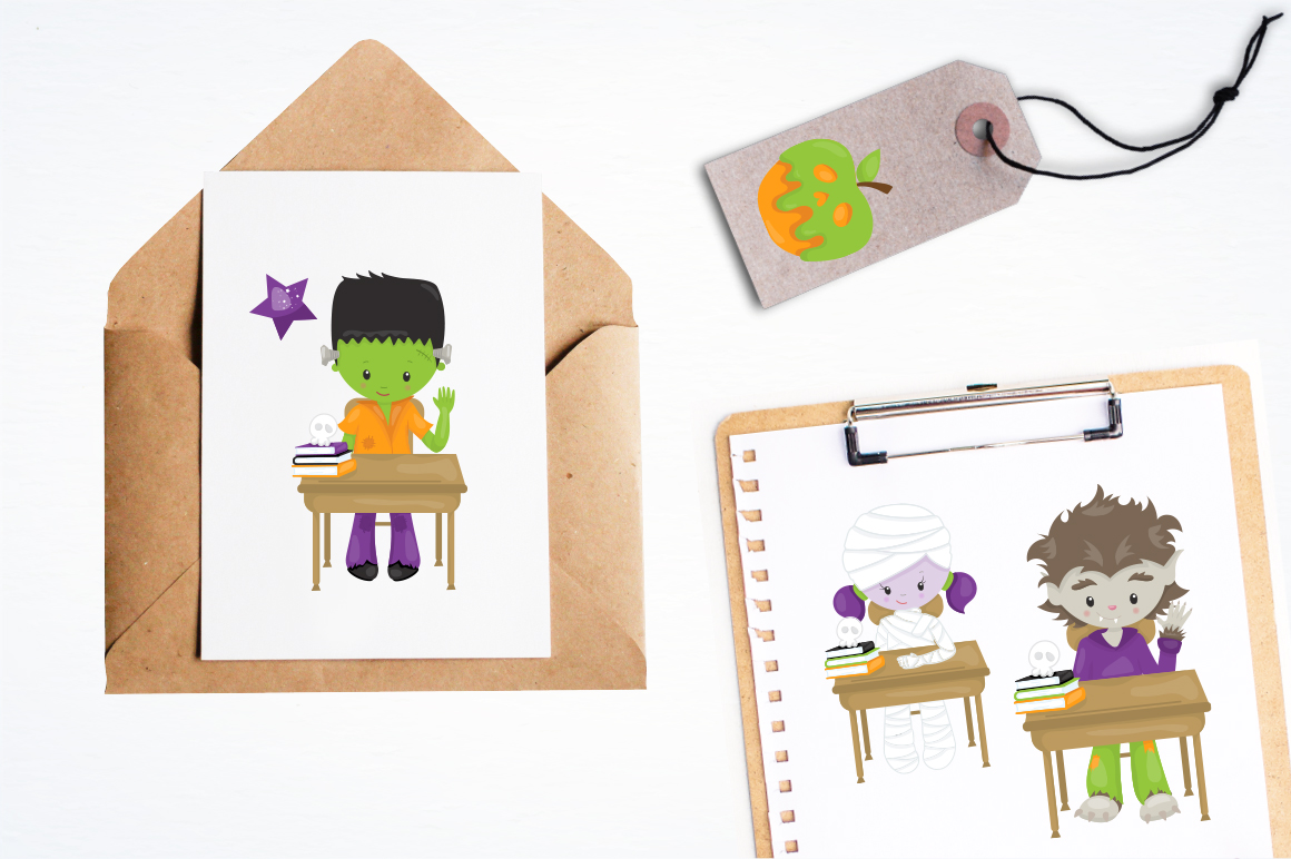 Little Monster graphic and illustrations example image 4