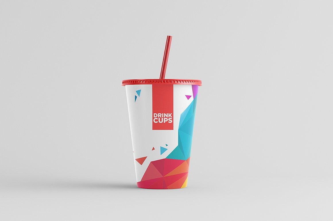 Drink Cups Mock-Up example image 2