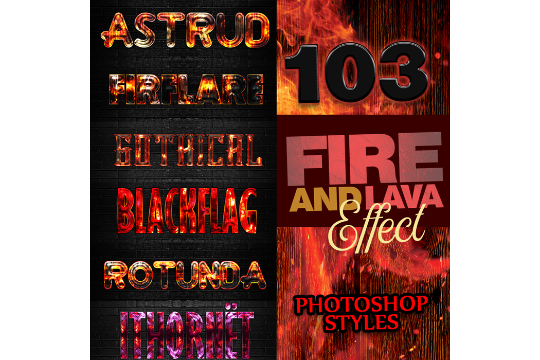 1600+ Mega Bundle Photoshop Styles example image 7