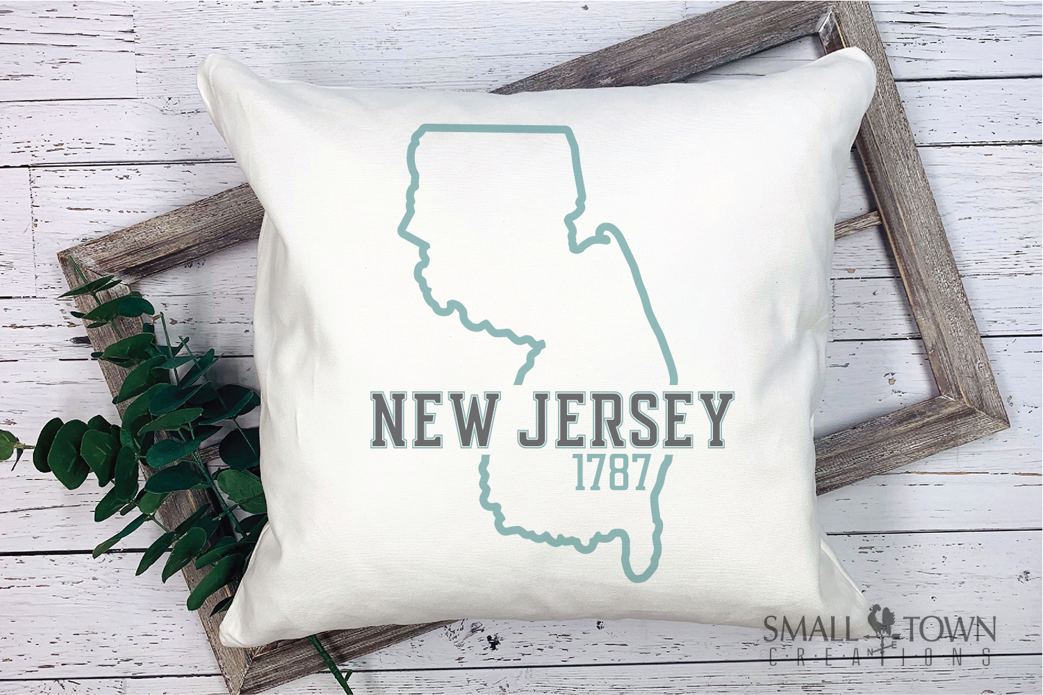 New Jersey, Garden State - slogan, PRINT, CUT & DESIGN example image 9