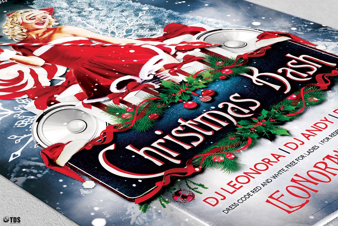 Christmas Bash Flyer Template V1 example image 6