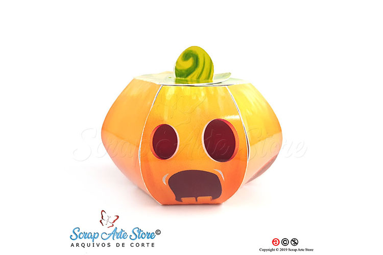 Box pumpkin hallowenn Cut Files example image 5