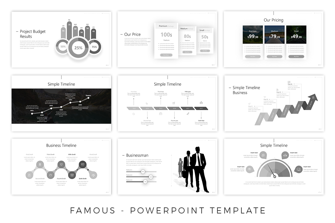 Famous - Creative Presentation example image 2