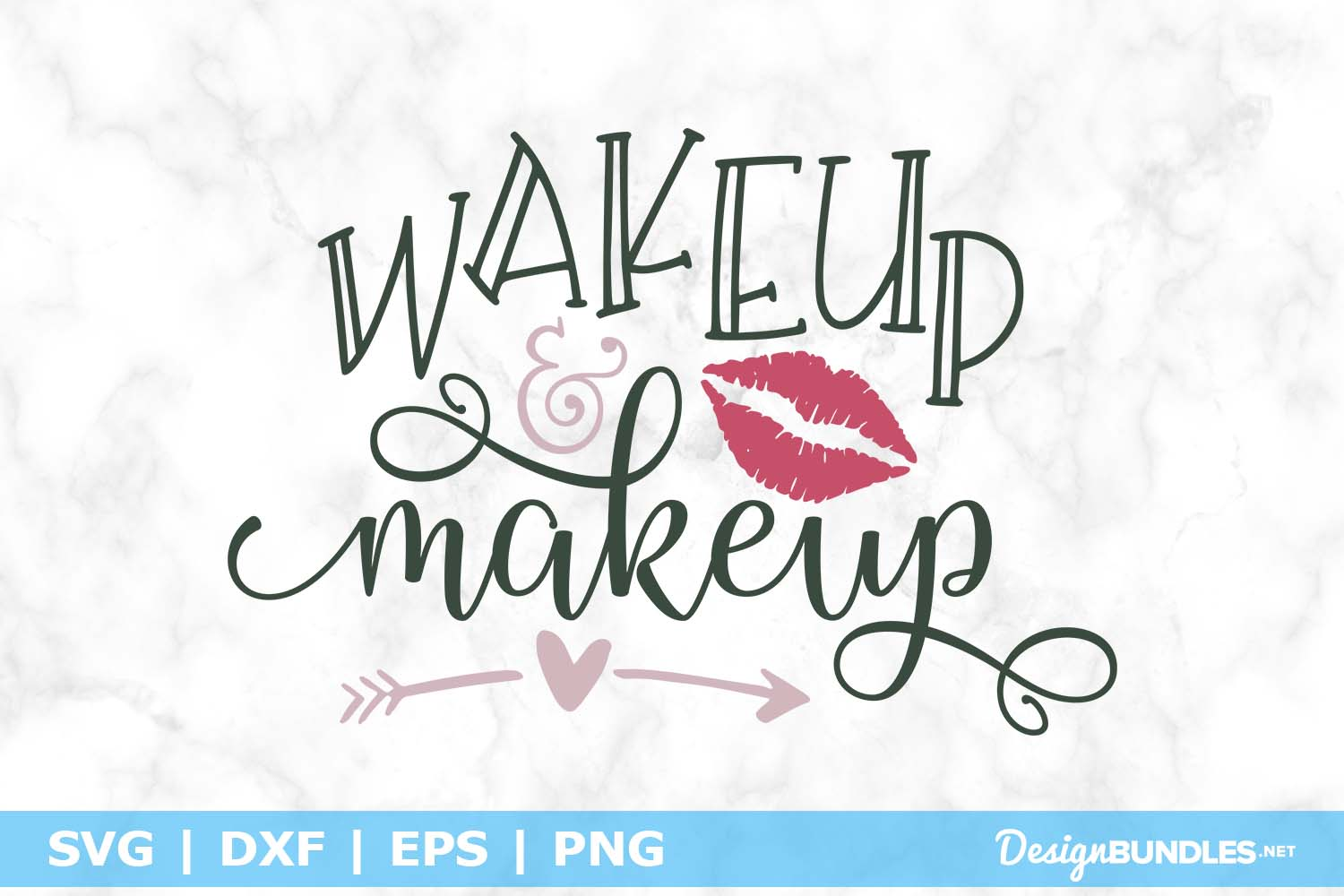 Wakeup & Make up SVG File example image 1