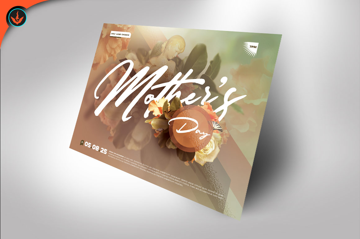 Mother's Day Flyer Template example image 2