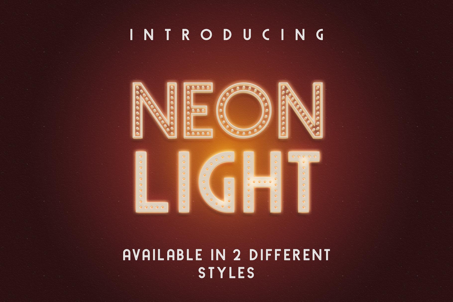 Neon Light example 1