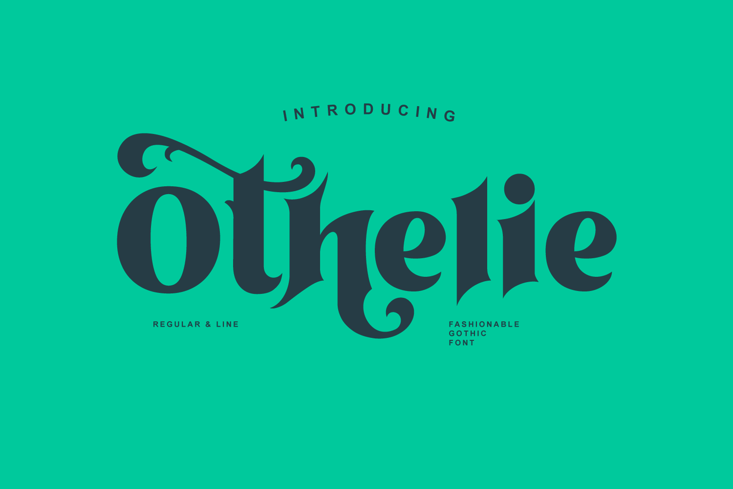 Othelie Font example image 1