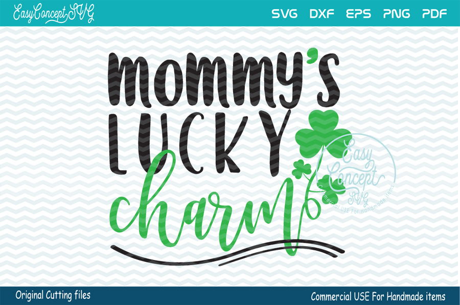 Mommy's Lucky Charm, example image 1