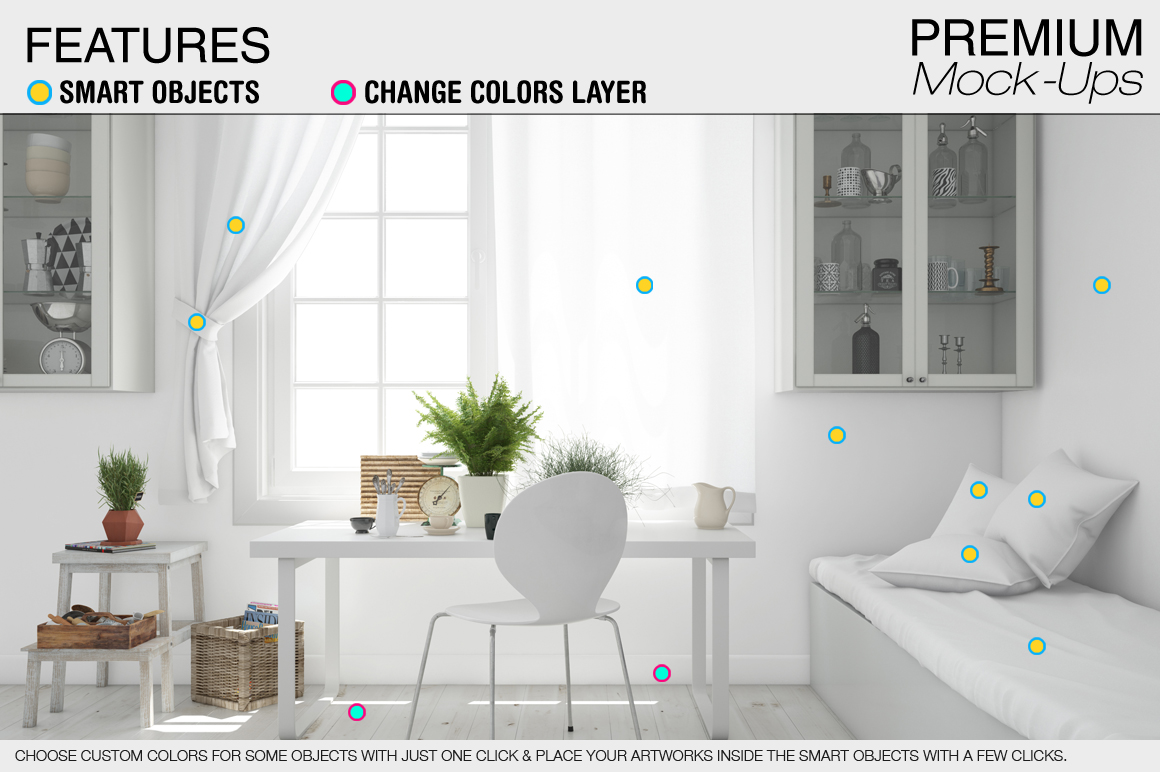 Pillows & Curtains Set - Kitchen example image 7