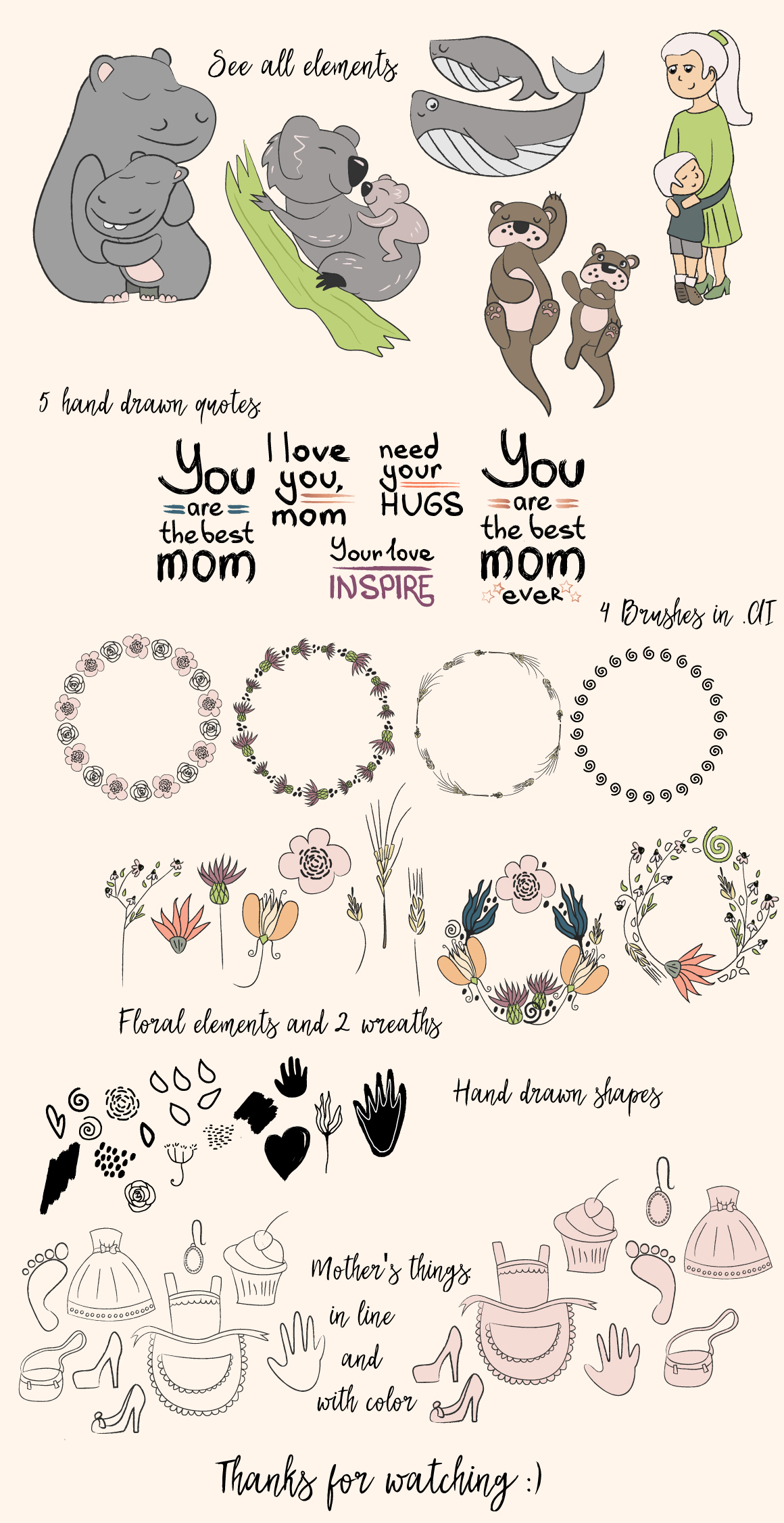 Collection to Mother's day example image 2