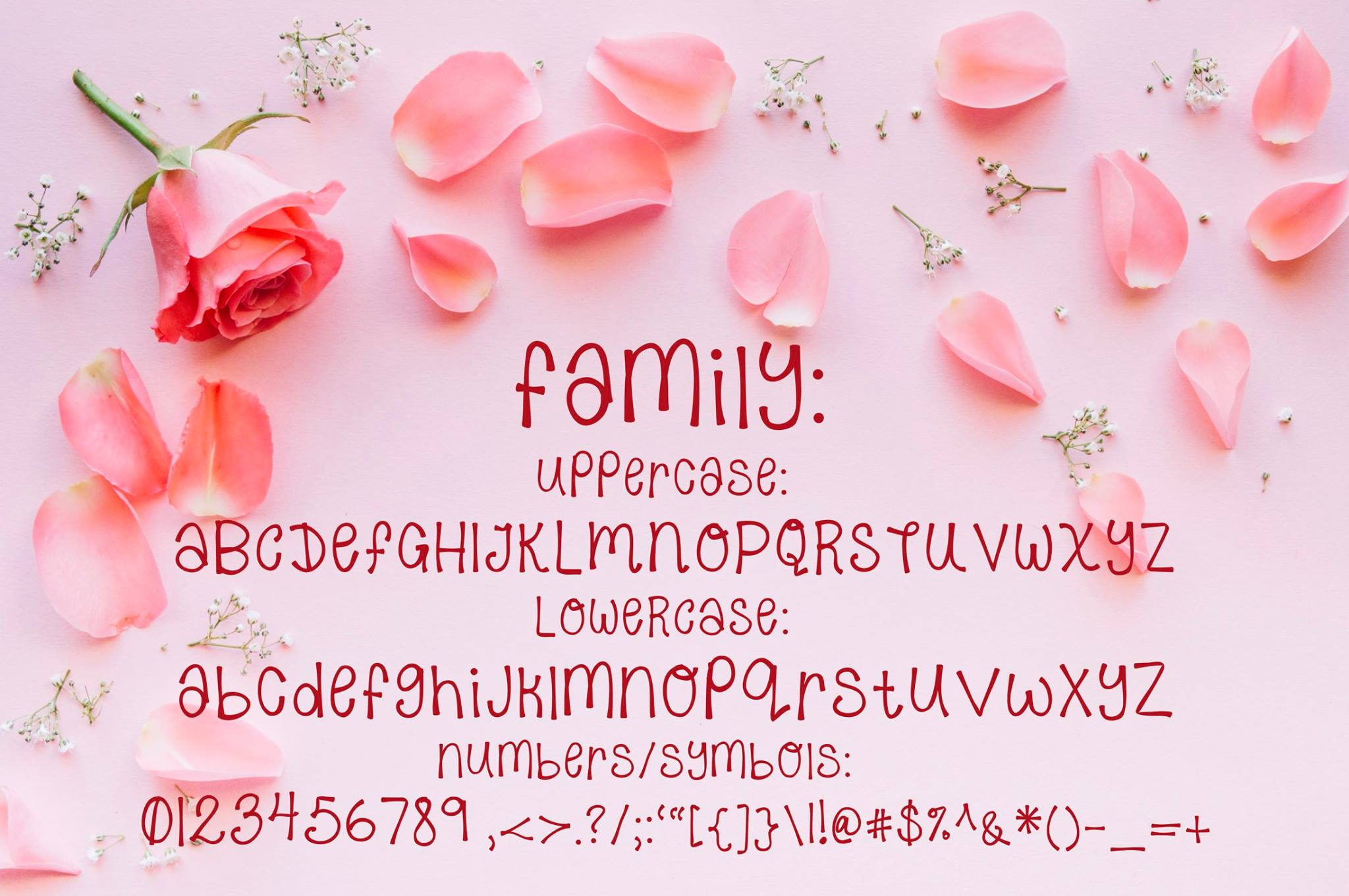 Sweet Rosie - A Hand Written OTF font example image 2
