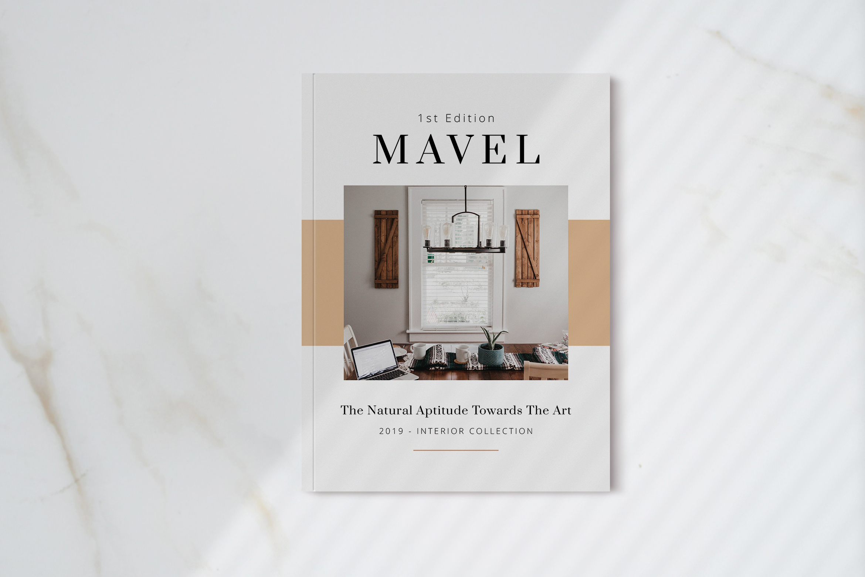 Mavel - Interior Magazine Template example image 1