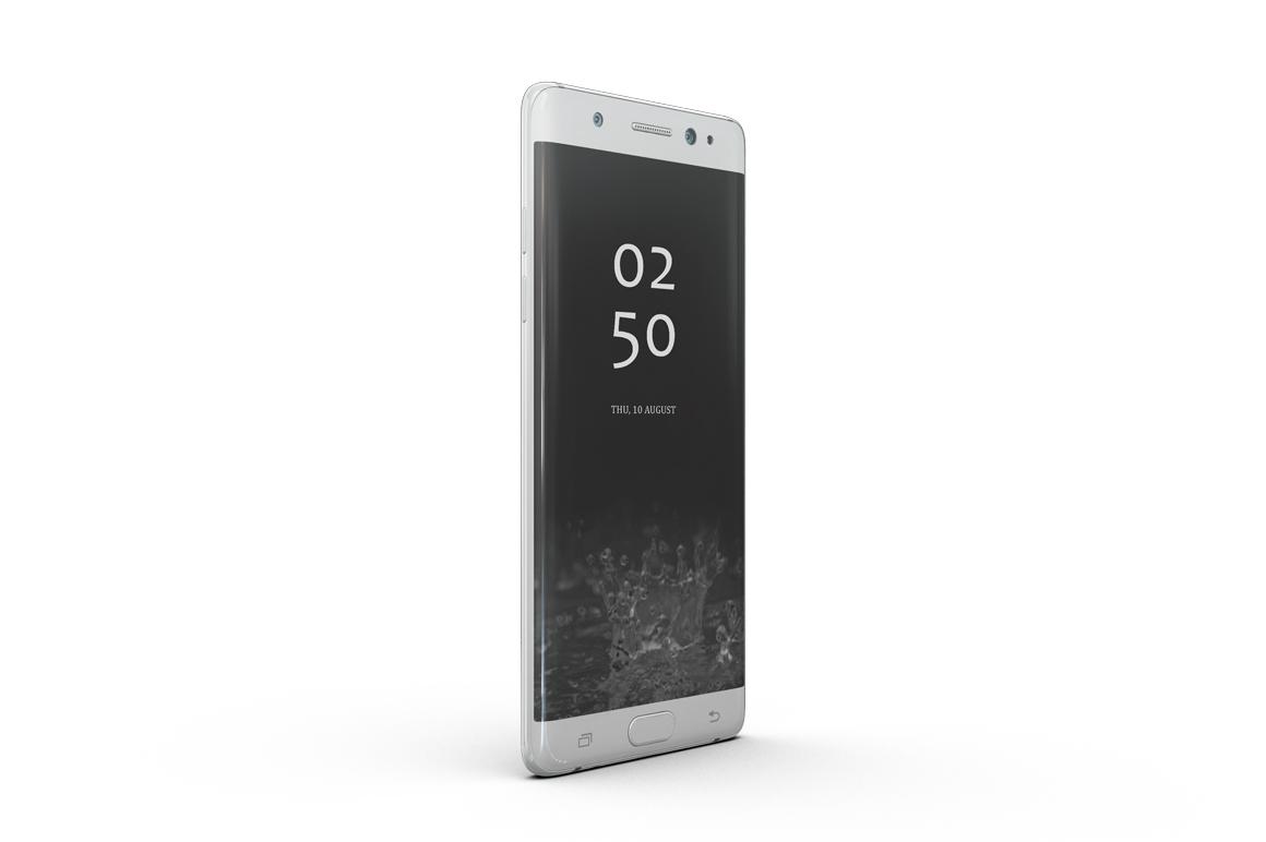 Samsung Galaxy Note 7 Mockup example image 9