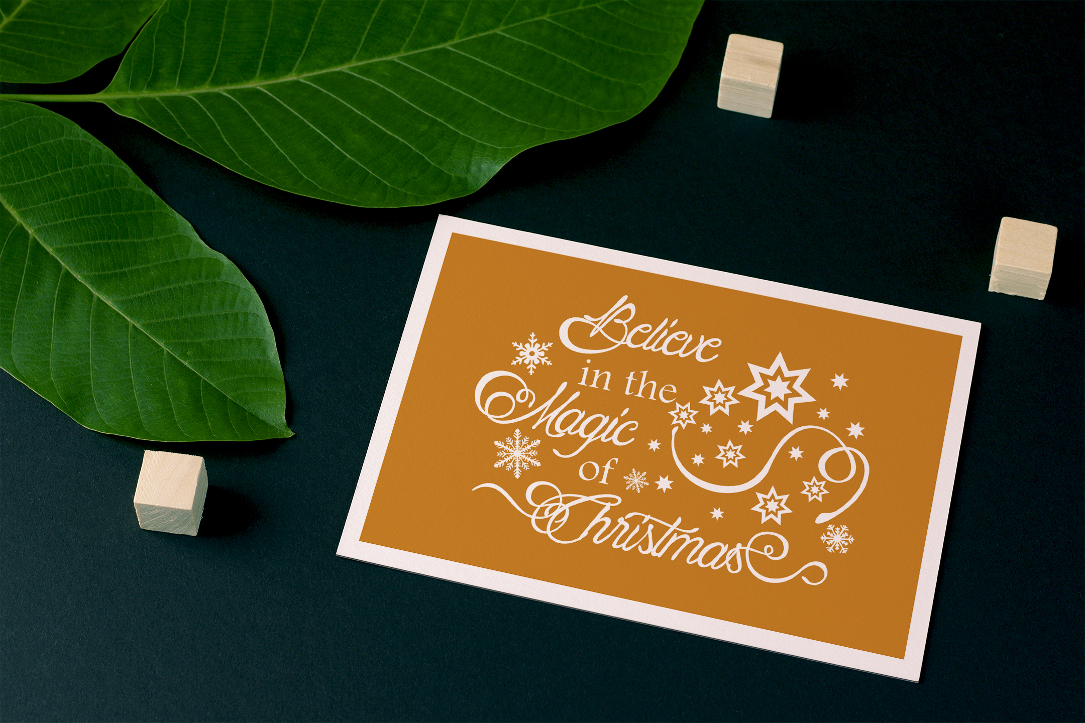 Christmas svg Believe in the magic of Christmas Winter svg example image 8