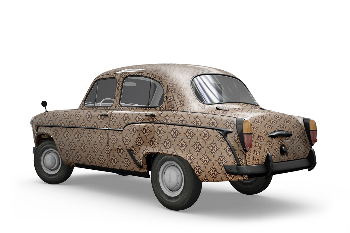 Vintage Car Mockup example image 7