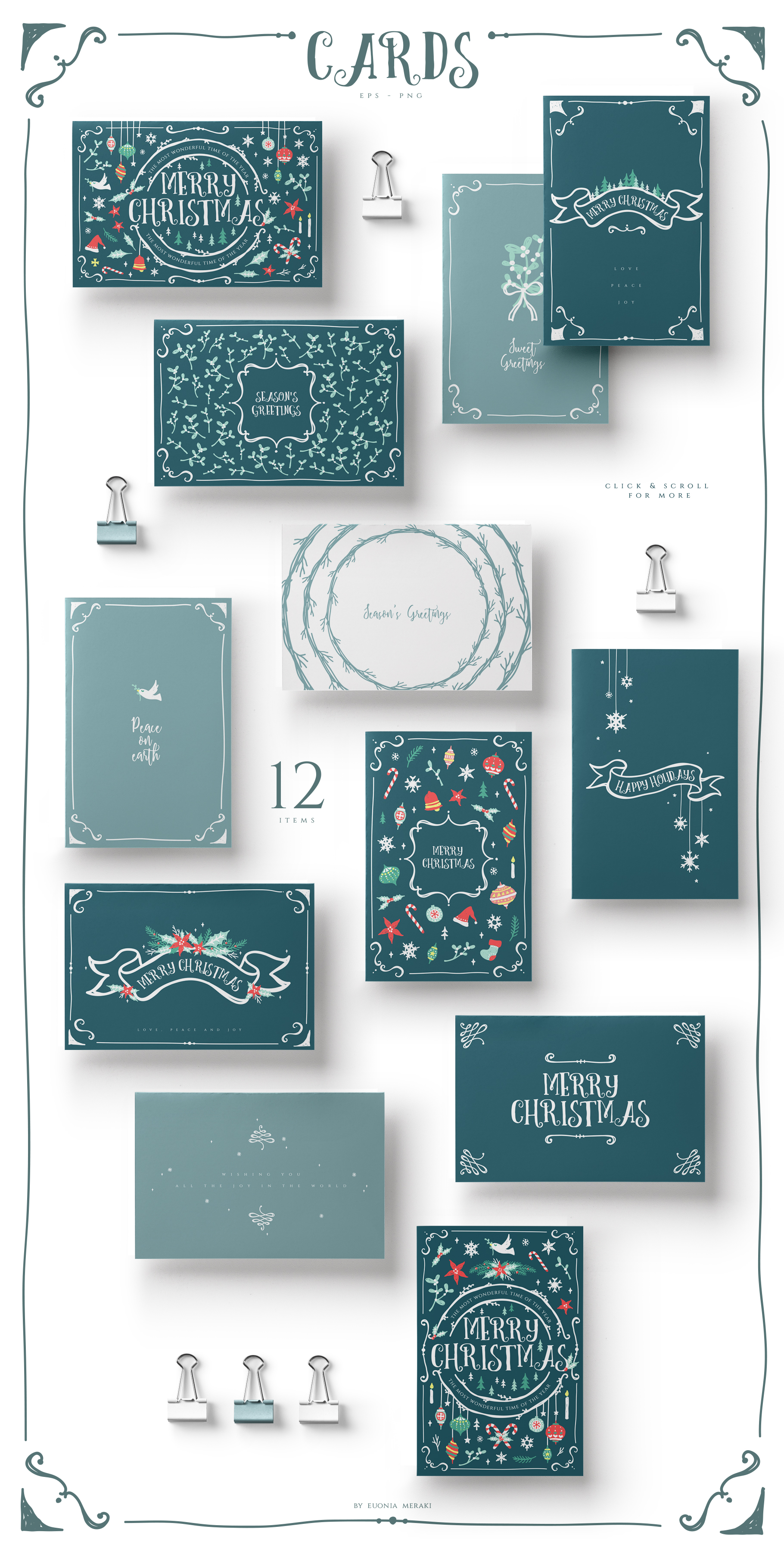 Christmas Joy - Cute and Festive Graphic Pack example image 7
