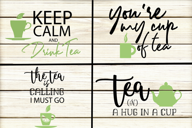 Tea Quotes Bundle example image 3