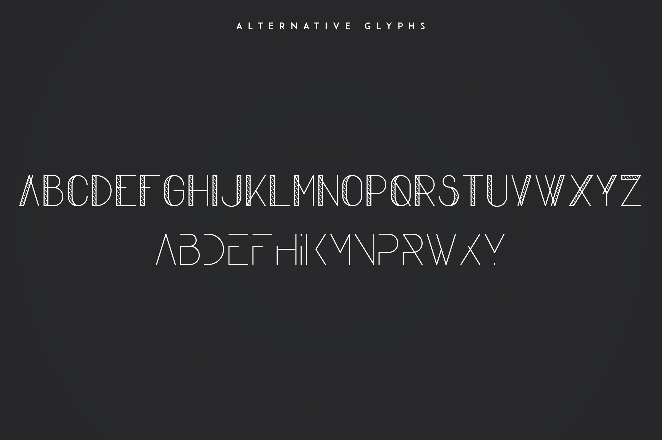 Komorebi Display Font example image 9