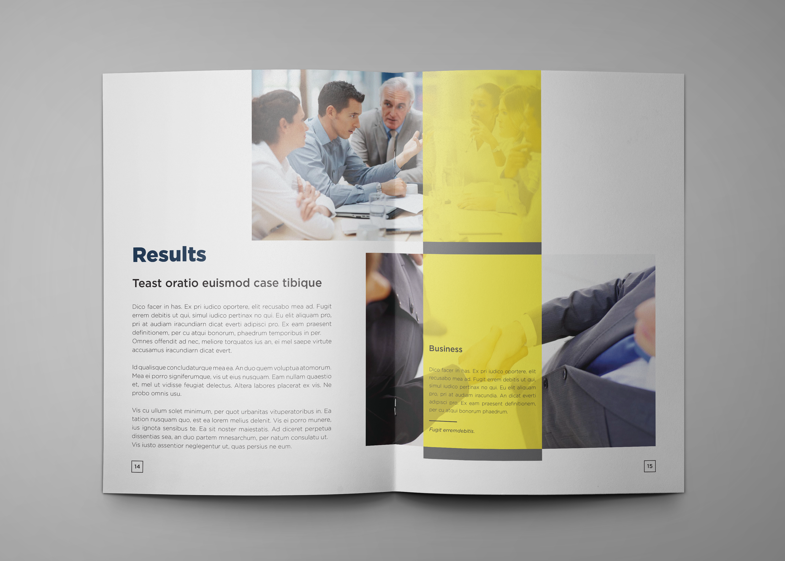 Corporate Company Profile example image 9