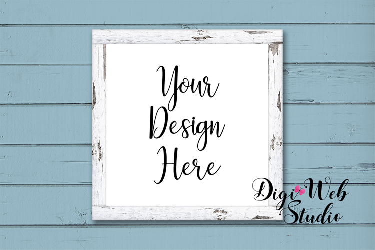 Mockup Bundle - Butterfly Cottage Wood Signs, Pillow & Mug example image 9