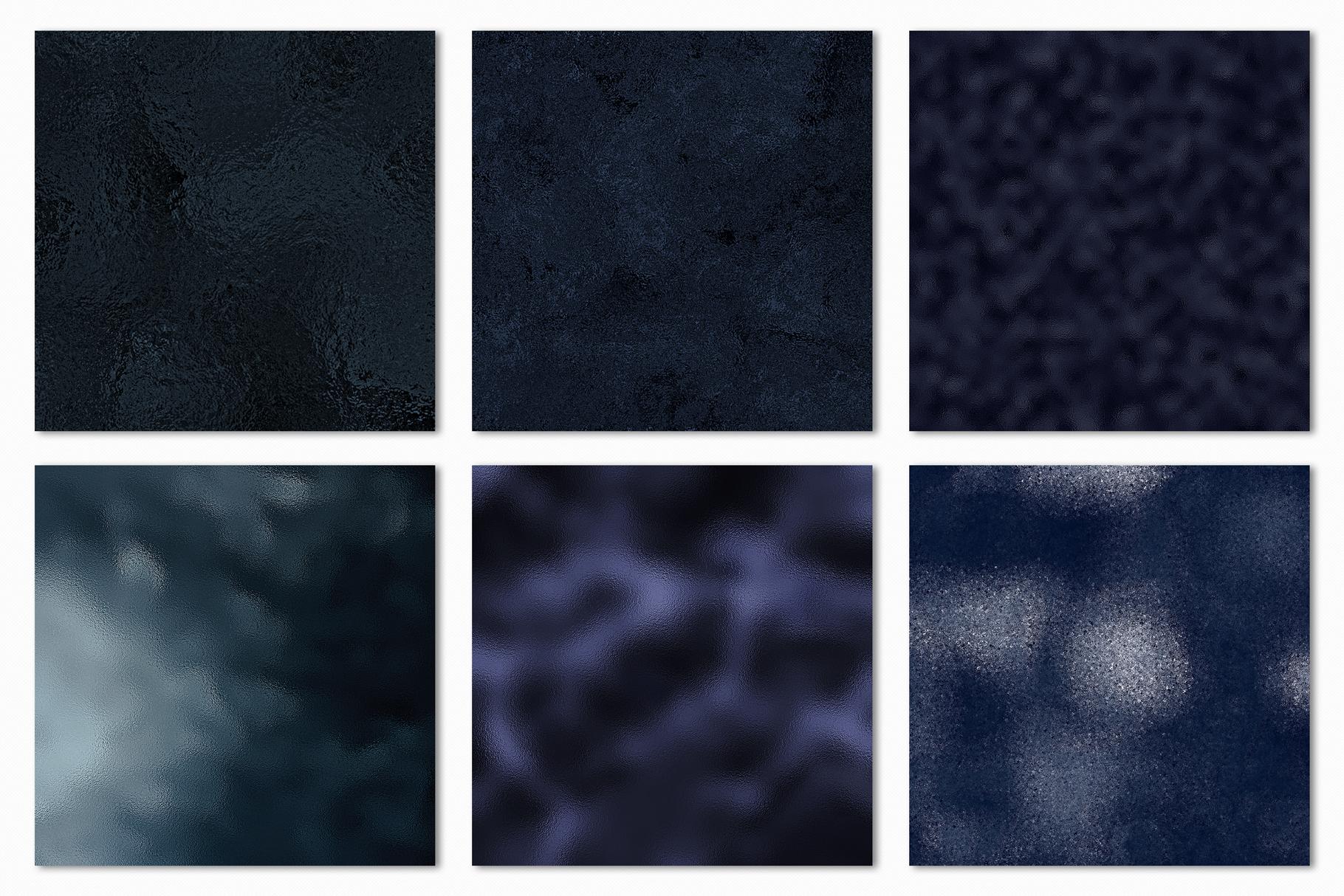 Dark Metallic Textures - 15 Foil & Glitter Digital Papers example image 13