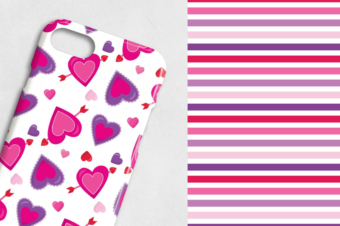 sweet-valentines digital papers example image 3