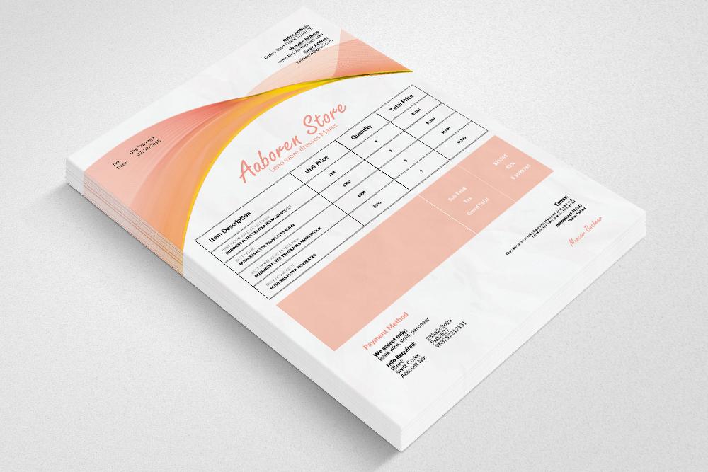 10 Professional Invoice Bundle example image 11