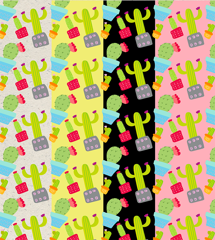 Cactus Doodle Pack example image 3