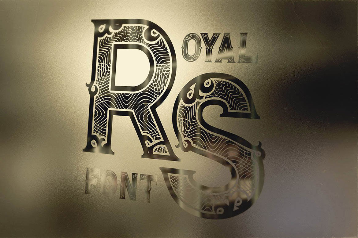 Royal - Vintage Style Font example image 3