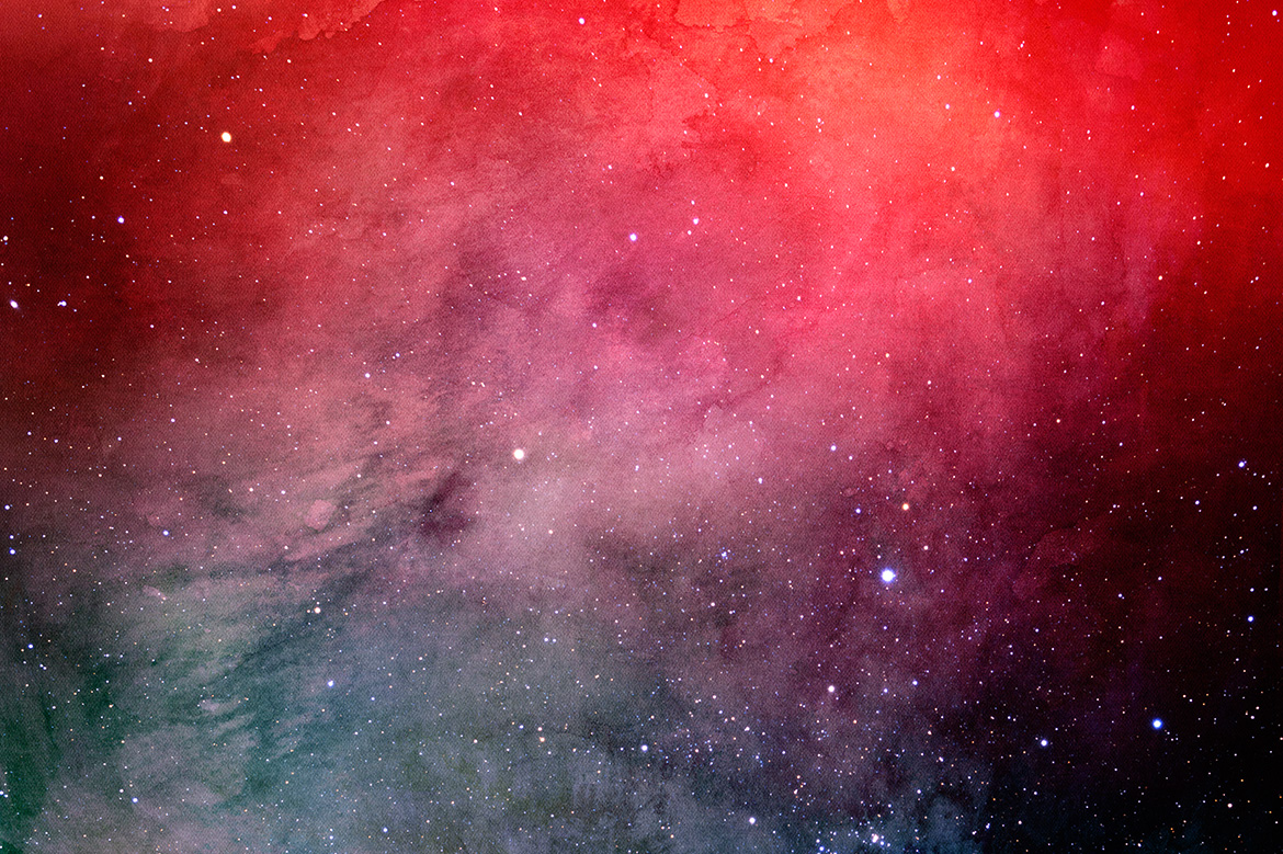 Space Watercolor Backgrounds example image 8