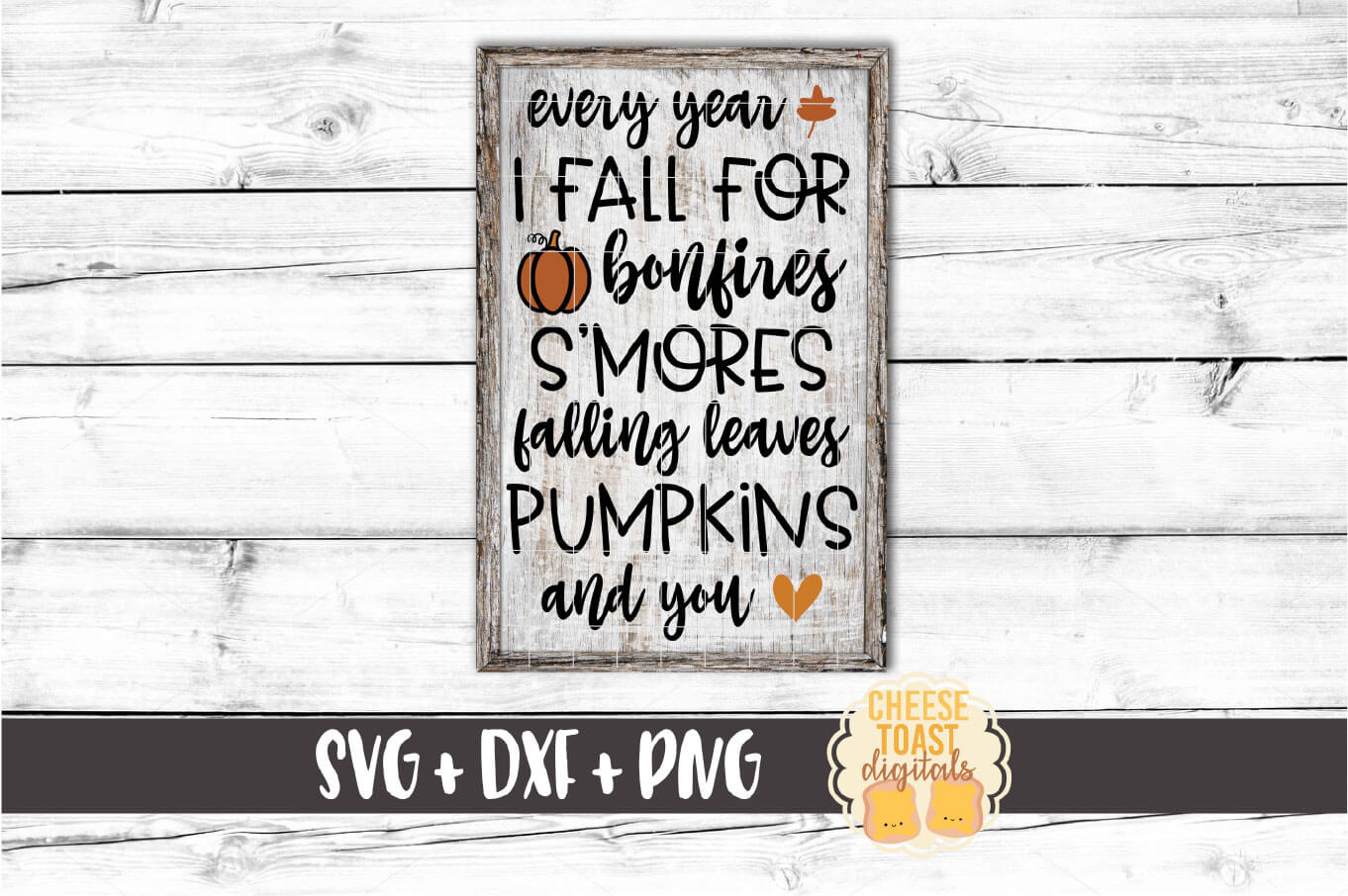Fall Sign Bundle Vol 3 - Autumn SVG PNG DXF Cut Files example image 3