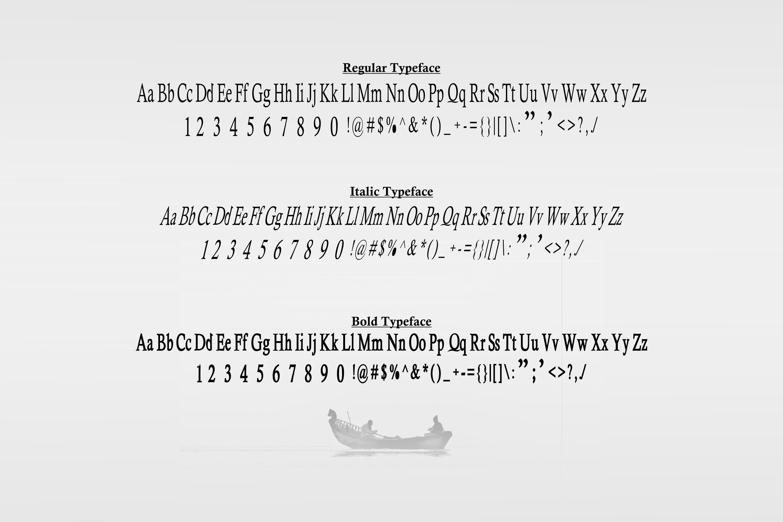 Heulgeul Typeface Family example image 5