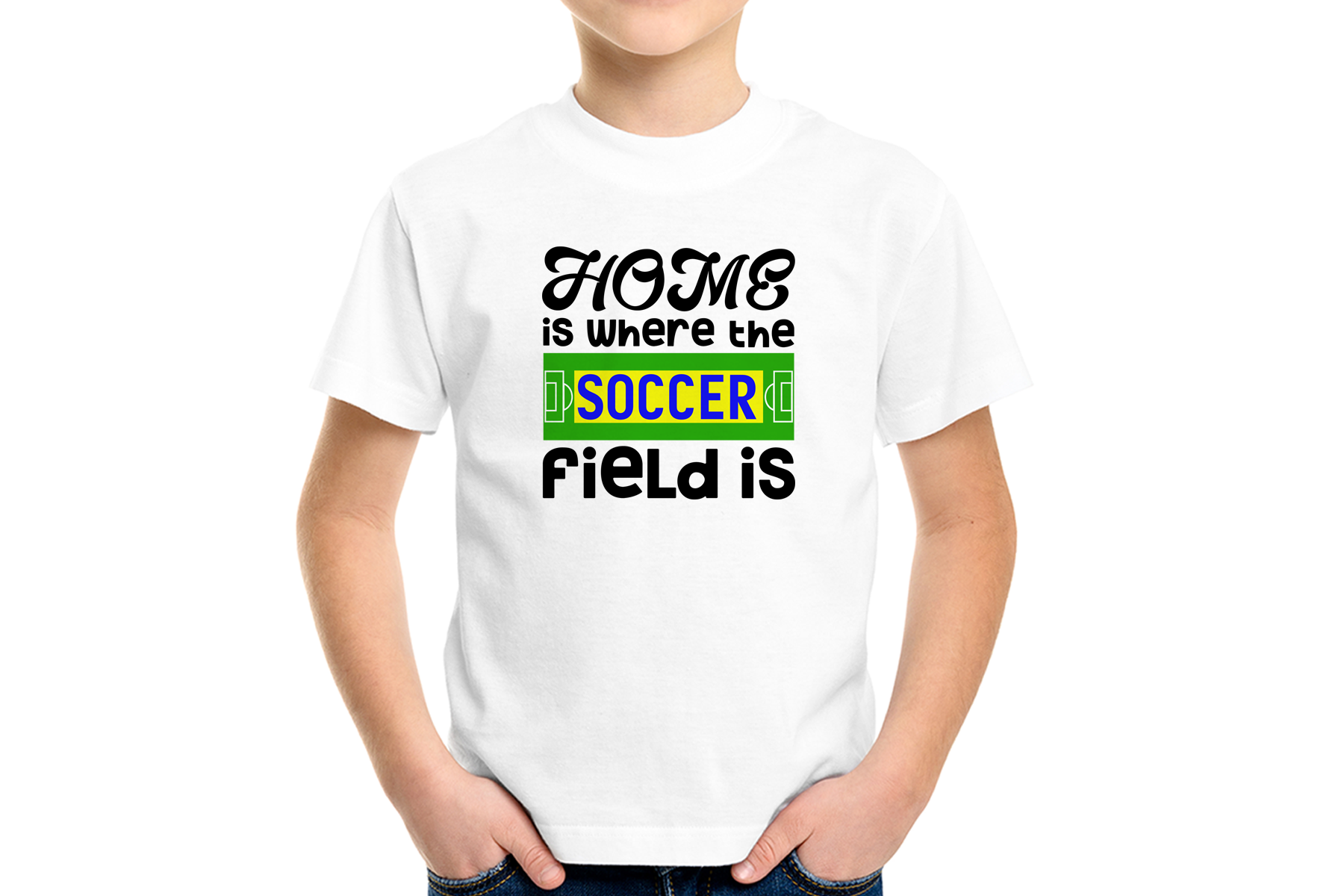 Home is Where the Soccer Field Is - A Soccer, Sports SVG example image 2