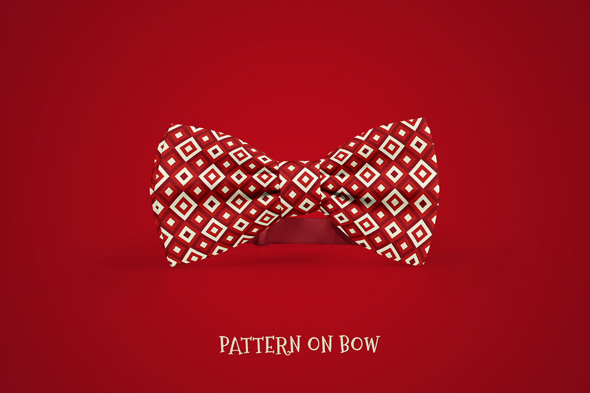 100 Christmas Seamless Patterns example image 23